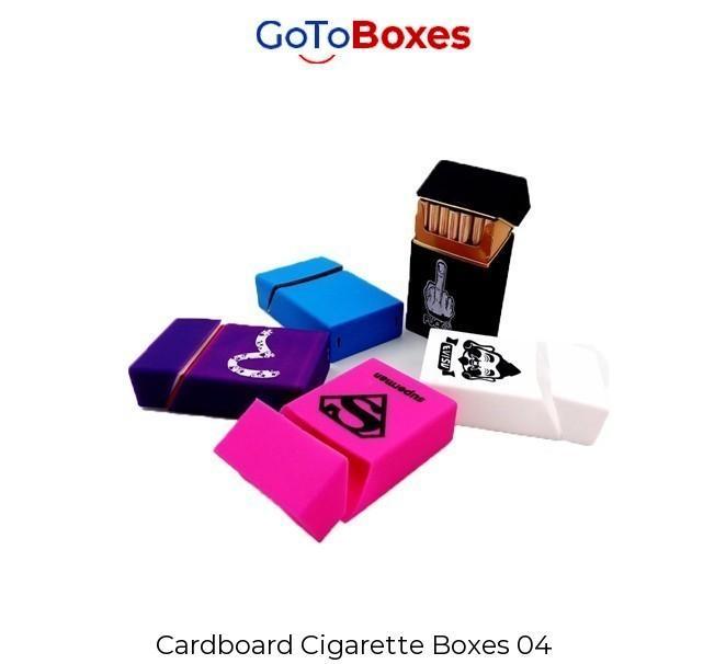 Custom Cigarette Boxes Wholesale Free Shipping